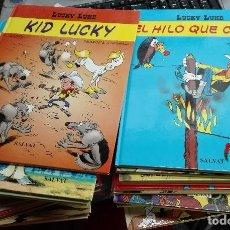 Cómics: LUCKY LUKE / COLECCIÓN COMPLETA 26 TOMOS / SALVAT 2002 (NUEVOS SIN USAR). Lote 112534308