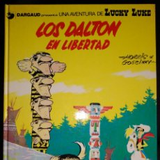 Cómics: LUCKY LUKE Nº 21. LOS DALTON EN LIBERTAD. EDITORIAL GRIJALBO. Lote 112469963