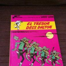 Cómics: LUCKY LUKE-EL TRESOR DELS DALTON. CATALÀ. Lote 112533660
