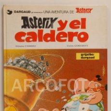 Cómics: ASTERIX Y EL CALDERO - UDERZO - GOSCINNY - GRIJALBO / DARGAUD - 1989. Lote 112557631