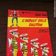 Cómics: LUCKY LUKE- L'INDULT DELS DALTON. CATALÀ. Lote 112561466