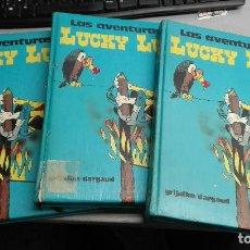 Cómics: LAS AVENTURAS DE LUCKY LUKE / TOMOS 2, 4, 7 / GRIJALBO DARGAUD. Lote 112600219