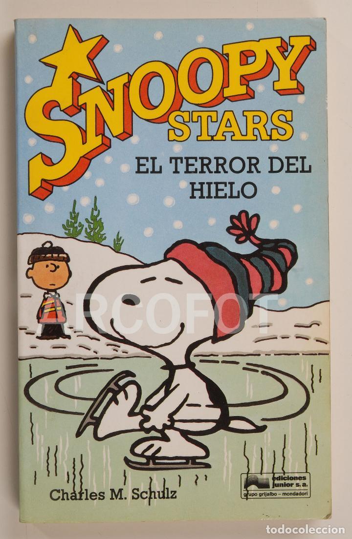 SNOOPY STARS Nº 3 - EL TERROR DEL HIELO - CHARLES M. SCHULTZ - EDICIONES JUNIOR 1990 (Tebeos y Comics - Grijalbo - Otros)