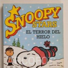 Cómics: SNOOPY STARS Nº 3 - EL TERROR DEL HIELO - CHARLES M. SCHULTZ - EDICIONES JUNIOR 1990. Lote 112701295