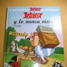 Cómics: ASTERIX Y LO NUNCA VISTO, GOSCINNY / UDERZO, ED. SALVAT, ERCOM. Lote 133343426