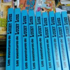 Cómics: LUCKY LUKE COLECCIÓN COMPLETA 9 TOMOS 36 ALBUMES GRIJALBO DARGAUD. Lote 112914244