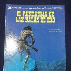 Cómics: EL FANTASMA DE LAS BALAS DE ORO AVENTURA DEL TENIENTE BLUEBERRY CHARLIER GIRAUD AÑOS 70 30X23X1 CM. Lote 112952515