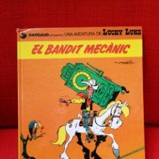 Cómics: LUCKY LUKE- EL BANDIT MECÀNIC.CATALÀ. Lote 112987687