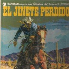 Cómics: TENIENTE BLUEBERRY: EL JINETE PERDIDO. CHARLIER Y GIRAUD. Lote 113002139