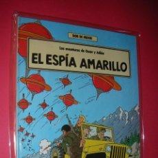 Cómics: BOB DE MOOR OSCAR Y JULIÁN Nº 3/4 EL ESPÍA AMARILLO Y EL CABALLERO ROJO . NUEVOS . Lote 113299239