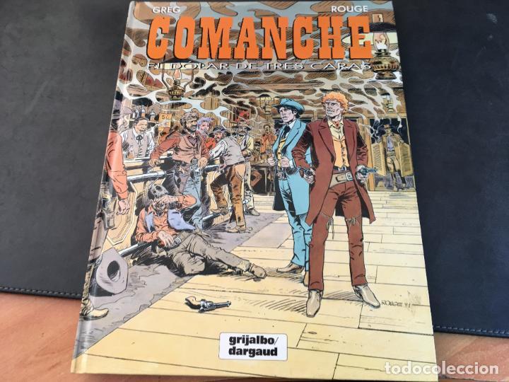 COMANCHE Nº 12 EL DOLAR DE TRES CARAS. PARA DURA GUIJALBO PRIMERA EDICION (COI59) (Tebeos y Comics - Grijalbo - Comanche)