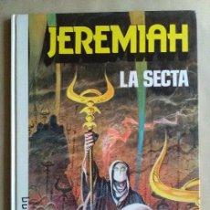 Cómics: JEREMIAH LA SECTA. Lote 113936803