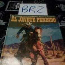 Cómics: EL JINETE PERDIDO BLUEBERRY DARGAUD GRIJALBO TOMO 19 VER FOTOS, ROTURA LATERAL SUPERIOR. Lote 114046350