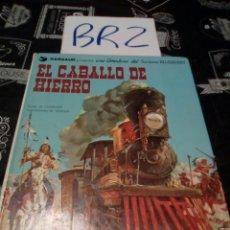 Cómics: EL CABALLO DE HIERRO BLUEBERRY DARGAUD GRIJALBO TOMO 3 VER FOTOS HOJAS SUELTAS NECESITA REPARACIÓN. Lote 114126482