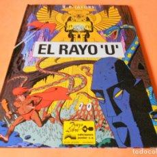 Cómics: EL RAYO U. DE EDGAR PIERRE JACOBS ( EL AUTOR DE BLAKE & MORTIMER ). ESTADO NORMAL.. Lote 114157935