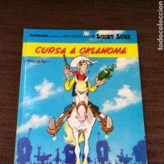 Cómics: LUCKY LUKE- CURSA A OKLAHOMA. CATALÀ. Lote 114271519