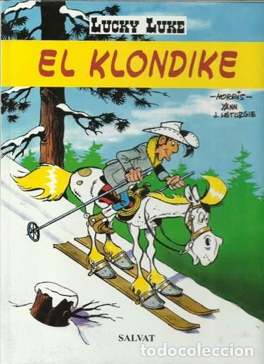 LUCKY LUKE: EL KLONDIKE, 2000, SALVAT, IMPECABLE (Tebeos y Comics - Grijalbo - Lucky Luke)