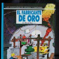 Cómics: LAS AVENTURAS DE SPIROU Y FANTASIO Nº 33. EL FABRICANTE DE ORO. EDITORIAL GRIJALBO. Lote 114488923