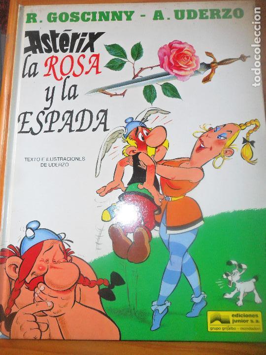 ASTERIX- LA ROSA Y LA ESPADA - GRIJALBO TAPA DURA (Tebeos y Comics - Grijalbo - Asterix)
