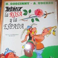 Comics - ASTERIX- LA ROSA Y LA ESPADA - GRIJALBO TAPA DURA - 114504943