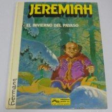 Cómics: JEREMIAH. EL INVIERNO DEL PAYASO. Nº 9. HERMANN. EDICIONES JUNIOR. 1987. Lote 114525235