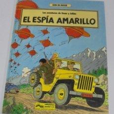 Cómics: BOB DE MOOR. Nº 3. LAS AVENTURAS DE OSCAR Y JULIAN. EL ESPIA AMARILLO. 1988. EDICIONES JUNIOR.. Lote 114529347
