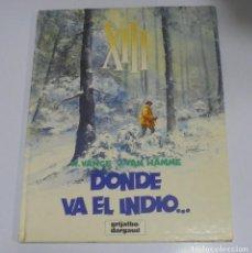 Cómics: XIII. DONDE VA EL INDIO... W.VANCE, J.VAN HAMME. 1987. EDICIONES GRIJALBO. Nº 2. Lote 114751471