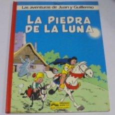 Cómics: TEBEO. LAS AVENTURAS DE JUAN Y GUILLERMO. LA PIEDRA DE LA LUNA. 1986. EDICIONES JUNIOR. Lote 114773255