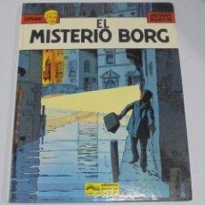 Cómics: TEBEO. LEFRANC. JACQUES MARTIN. EL MISTERIO BORG. 1986. EDICIONES JUNIOR. Lote 114773435