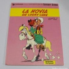 Comics : UNA AVENTURA DE LUCKY LUKE. Nº 32. LA NOVIA DE LUCKY LUKE. 1986. EDICIONES GRIJALBO. Lote 114774879