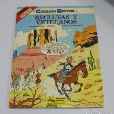 Cómics: CASACAS AZULES. RECLUTAS Y VETERANOS. ESPECIAL SALVERIUS. EDICIONES JUNIOR. 1986. Lote 114775839