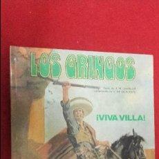 Cómics: VIVA VILLA - LOS GRINGOS 2 - CHARLIER & V. DE LA FUENTE - ED. JUNIOR - CARTONE. Lote 114852983