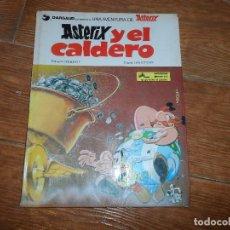 Cómics: ASTERIX Nº 13 ASTERIX Y EL CALDERO EDITORIAL GRIJALBO TAPA DURA . Lote 114926923
