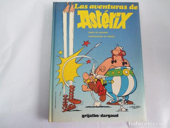 Cómics: LAS AVENTURAS DE ASTERIX. 8 VOLUMENES. GUION GOSCINNY. ILUSTRACION UDERZO. GRIJALBO 1990 - Foto 6 - 114926963