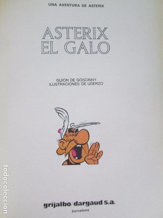 Cómics: LAS AVENTURAS DE ASTERIX. 8 VOLUMENES. GUION GOSCINNY. ILUSTRACION UDERZO. GRIJALBO 1990 - Foto 7 - 114926963