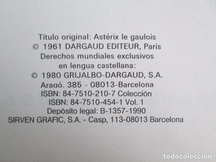 Cómics: LAS AVENTURAS DE ASTERIX. 8 VOLUMENES. GUION GOSCINNY. ILUSTRACION UDERZO. GRIJALBO 1990 - Foto 8 - 114926963