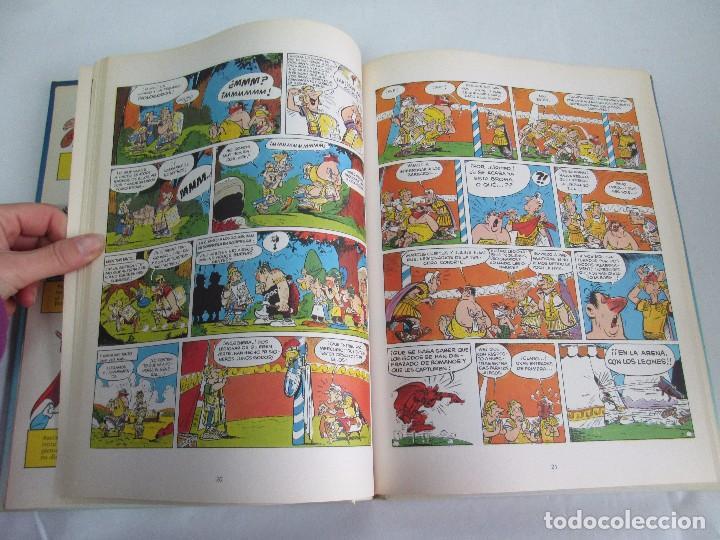Cómics: LAS AVENTURAS DE ASTERIX. 8 VOLUMENES. GUION GOSCINNY. ILUSTRACION UDERZO. GRIJALBO 1990 - Foto 9 - 114926963