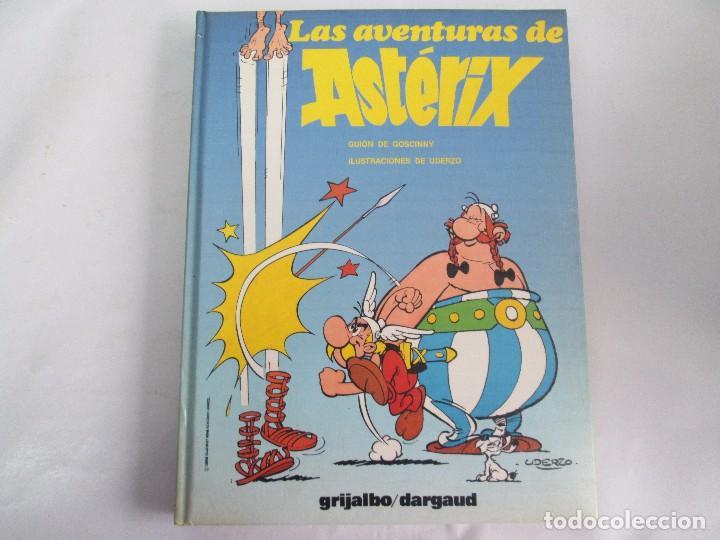 Cómics: LAS AVENTURAS DE ASTERIX. 8 VOLUMENES. GUION GOSCINNY. ILUSTRACION UDERZO. GRIJALBO 1990 - Foto 12 - 114926963
