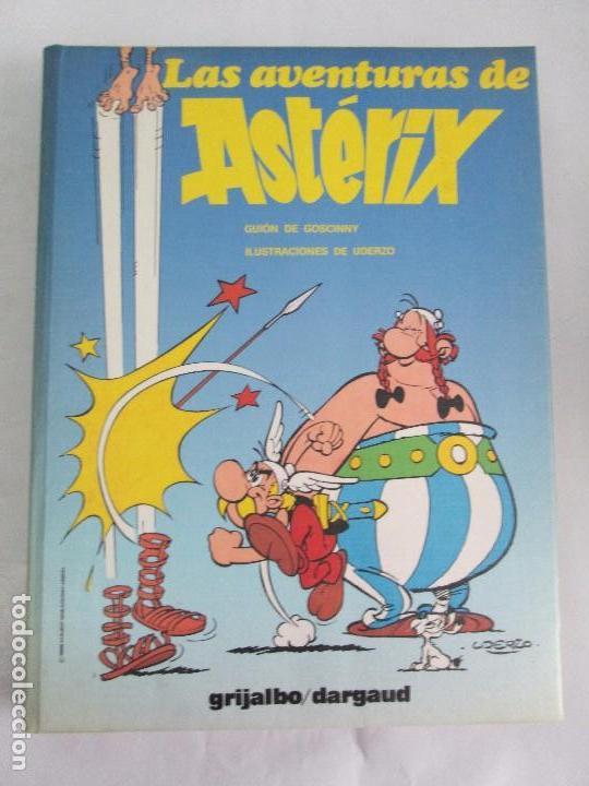 Cómics: LAS AVENTURAS DE ASTERIX. 8 VOLUMENES. GUION GOSCINNY. ILUSTRACION UDERZO. GRIJALBO 1990 - Foto 16 - 114926963