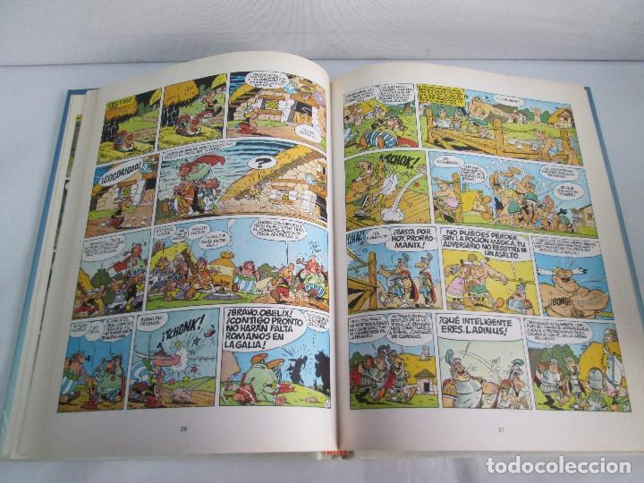 Cómics: LAS AVENTURAS DE ASTERIX. 8 VOLUMENES. GUION GOSCINNY. ILUSTRACION UDERZO. GRIJALBO 1990 - Foto 18 - 114926963
