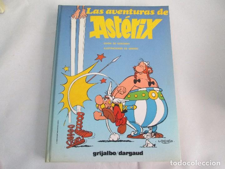 Cómics: LAS AVENTURAS DE ASTERIX. 8 VOLUMENES. GUION GOSCINNY. ILUSTRACION UDERZO. GRIJALBO 1990 - Foto 21 - 114926963