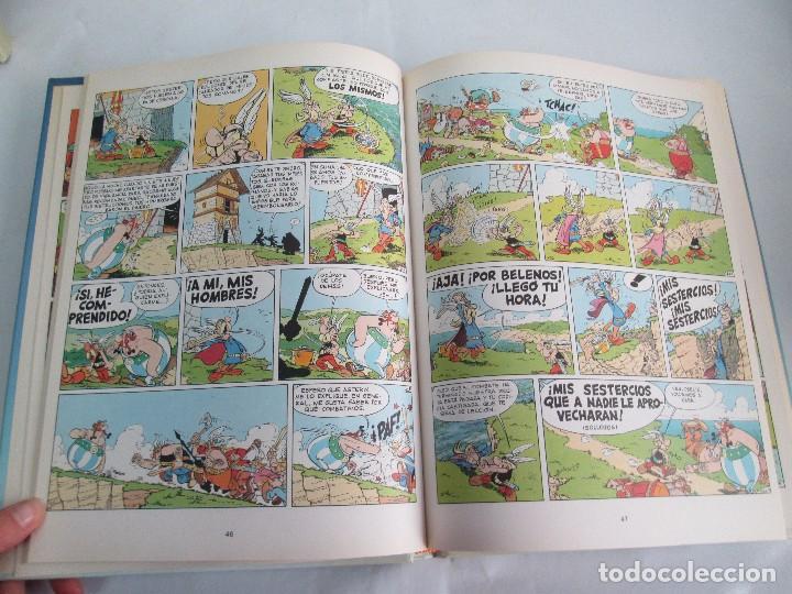 Cómics: LAS AVENTURAS DE ASTERIX. 8 VOLUMENES. GUION GOSCINNY. ILUSTRACION UDERZO. GRIJALBO 1990 - Foto 22 - 114926963