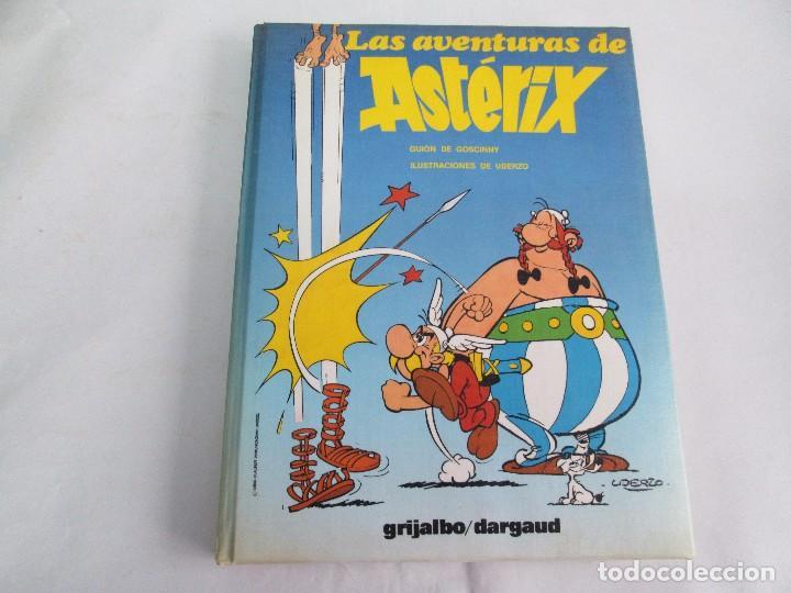 Cómics: LAS AVENTURAS DE ASTERIX. 8 VOLUMENES. GUION GOSCINNY. ILUSTRACION UDERZO. GRIJALBO 1990 - Foto 26 - 114926963