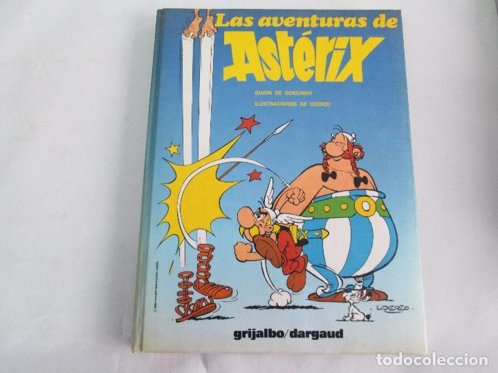 Cómics: LAS AVENTURAS DE ASTERIX. 8 VOLUMENES. GUION GOSCINNY. ILUSTRACION UDERZO. GRIJALBO 1990 - Foto 27 - 114926963