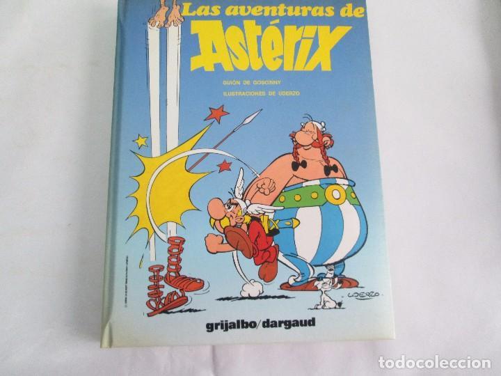 Cómics: LAS AVENTURAS DE ASTERIX. 8 VOLUMENES. GUION GOSCINNY. ILUSTRACION UDERZO. GRIJALBO 1990 - Foto 31 - 114926963