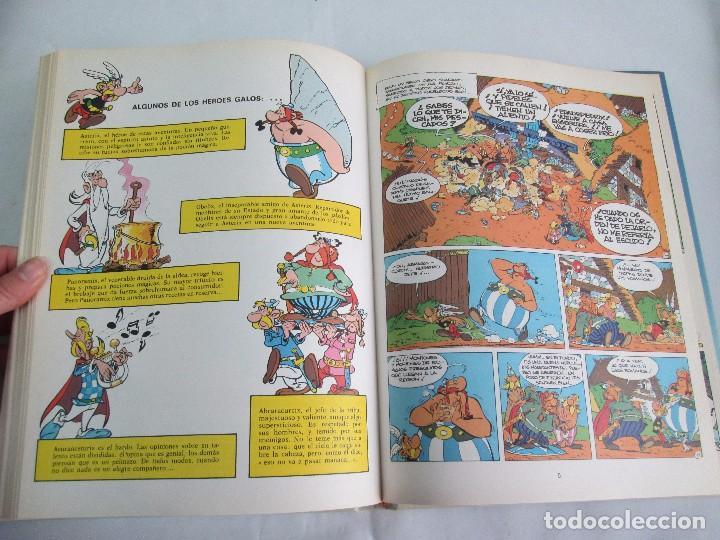 Cómics: LAS AVENTURAS DE ASTERIX. 8 VOLUMENES. GUION GOSCINNY. ILUSTRACION UDERZO. GRIJALBO 1990 - Foto 33 - 114926963