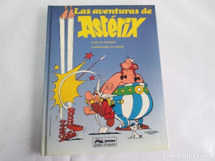 Cómics: LAS AVENTURAS DE ASTERIX. 8 VOLUMENES. GUION GOSCINNY. ILUSTRACION UDERZO. GRIJALBO 1990 - Foto 40 - 114926963