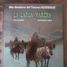 Comics - TENIENTE BLUEBERRY. LA LARGA MARCHA. ED.JUNIOR 1981 - 115003491
