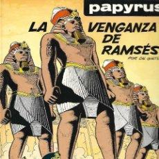 Cómics: PAPYRUS (POR DE GIETER), TOMO Nª 7: LA VENGANZA DE RAMSÉS ( DIFICIL). Lote 115123955