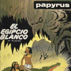 Cómics: PAPYRUS (POR DE GIETER), TOMO Nª5: EL EGIPCIO BLANCO ( DIFICIL). Lote 115124311